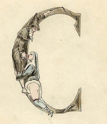 Joseph Apoux's Alphabet Pornographique, circa 1880